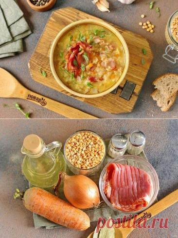 Гороховый суп по-немецки | Вкусные кулинарные рецепты
