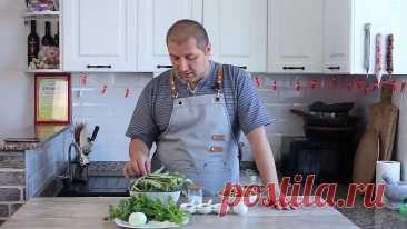 Пхали из зеленой фасоли - полезно, вкусно и быстро (მხალი)