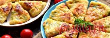 Жареные хлебцы с сыром • Рецепт Очень вкусные домашние жареные хлебцы с сыром, болгарским перцем и зеленью. Приготовьте в сковороде альтернативу обычному хлебу, просто и быстро.
