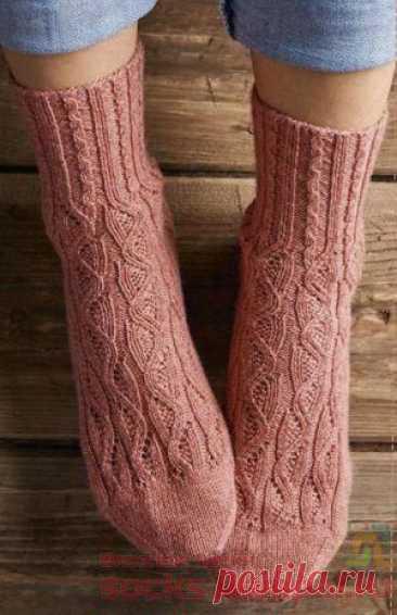 Вязаные носки «Tavia»