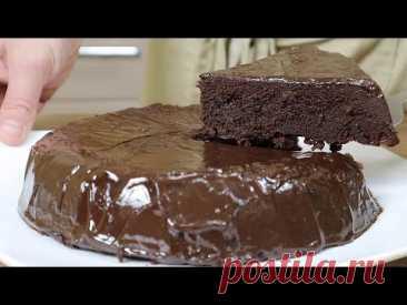 Шоколадный торт За 5 МИНУТ.  Рецепт торта без выпечки  в микроволновке без яиц и молока!
