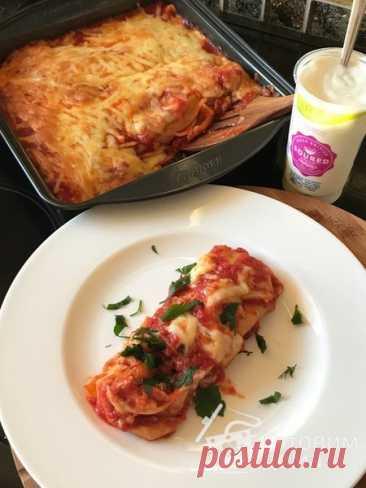 Энчиладас с курицей - пошаговый рецепт с фото на Готовим дома