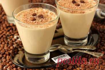 Сливочно-кофейное желе - рецепт с фотографиями - Patee. Рецепты