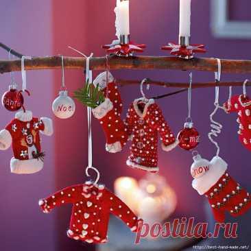 Новогодний декор… санузла! — Домашний уют