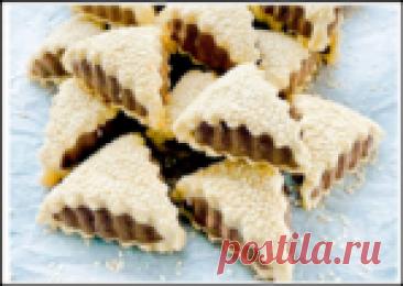 Вкусное и эффектное кунжутное печенье - готовится быстро и просто!