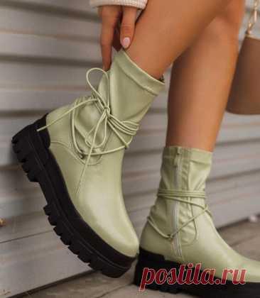 Модные ботинки осень-зима 2021-2022: гармоничное сочетание внешнего вида и комфорта