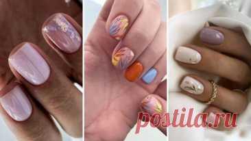 Нежный маникюр – идеальное решение для любых ногтей – ВСЕ ПРОСТО