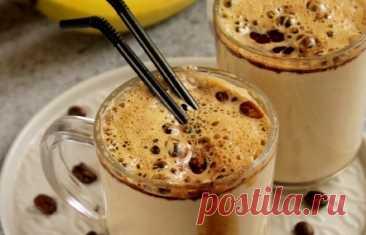 Бесподобный творожно-банановый смузи с кофе