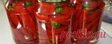 Маринованный ГОРЬКИЙ перец на ЗИМУ: наслаждайтесь круглый год - Кухня мира