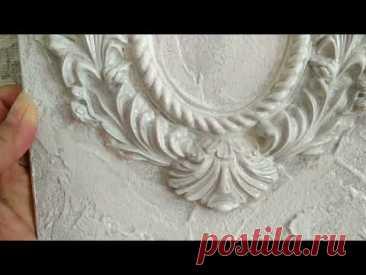 Посмотрите что можно, сделать из ненужной керамической плитки. Декор... - YouTube