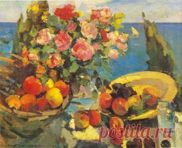Русский живописец Константин Алексеевич Коровин (1861- 1939)