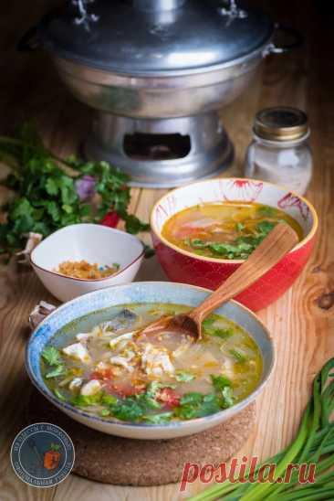 Простой рыбный суп в вьетнамском стиле - БУДЕТ ВКУСНО! - медиаплатформа МирТесен