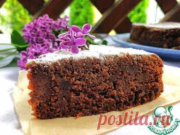 Шоколадный пирог в молочной заливке – кулинарный рецепт