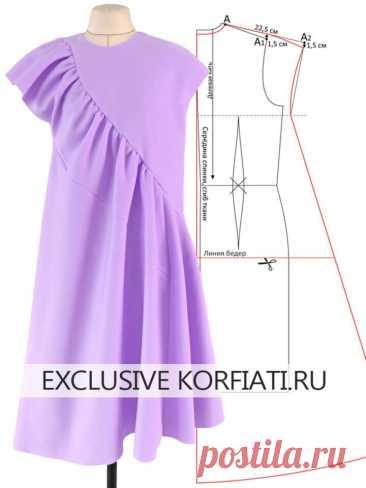 Моделируем оригинальное платье-балахон  https://korfiati.ru/2021/05/vykrojka-platya-balahon/  В силу объективных причин современная мода стремится к удобным свободным моделям, которые не сковывают движений, и позволяют чувствовать себя комфортно в любых условиях. Не удивительно, что сегодня очень популярна одежда из трикотажных материалов, а также одежда в бельевом стиле. Оба тренда устойчиво доминируют в гардеробах современных модниц. Еще один непревзойденный и супер-акту...