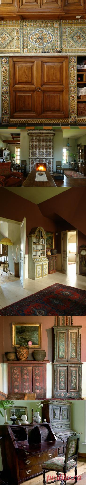 Дом с драгоценной, антикварной мебелью, где каждый предмет уникален. Правдивость мебели старинных домов Русского Севера | АРТбук Ульяновой | Яндекс Дзен
