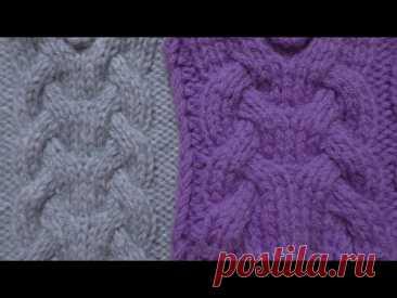 Красивые и оригинальные косы спицами. Узор косы для вязания кардиганов, свитеров, джемперов, кофт.