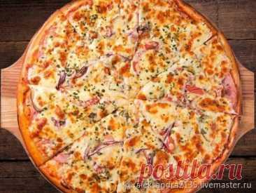 Мастер-класс смотреть онлайн: Готовим излюбленную и обожаемую пиццу-эконом | Журнал Ярмарки Мастеров