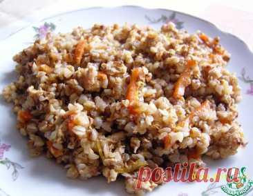 Гречка с мясным фаршем и овощами – кулинарный рецепт