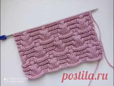 Очень красивый рельефный узор спицами для вязания кардиганов, джемперов, свитеров. Очень красивый рельефный узор спицами для вязания кардиганов, джемперов, свитеров.Всем привет! Сегодня для Вас я подготовила просто шикарный узор, в который ...
