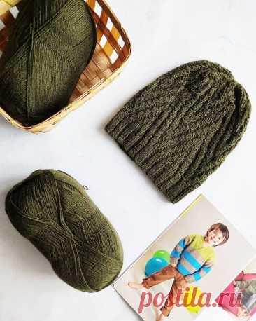 Шапка от knit.faia