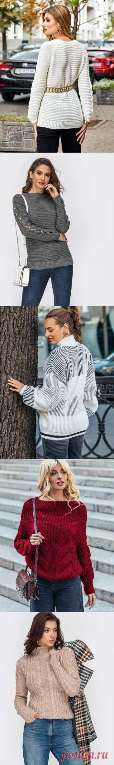 Стильные женские свитера DRESSA КОМФОРТ И СТИЛЬ В ОДНОМ ФЛАКОНЕ! Стильные свитера DRESSA будут отличным обновлением вашего гардероба. Выполнены из мягкого и приятного к телу материала.  Изделия отвязываются по контуру и проходят проверку качества. Создают очень нежный и теплый образ, а также красиво смотрятся на девушках и женщинах любого возраста. Люди во всем мире выбирают наши свитера за элегантность и непревзойденное качество!