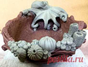 осьминог из полимерной глины– Google Поиск