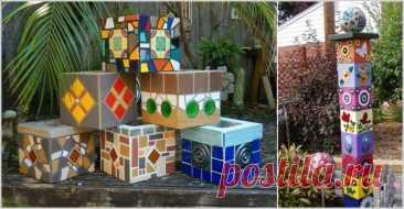 Оригинальные поделки для вашего сада