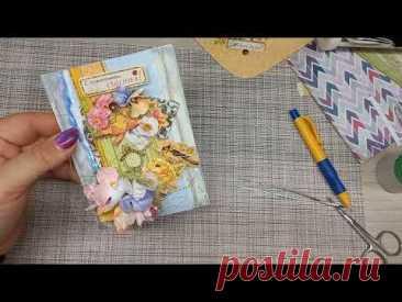 Переделка  покупного конверта в скрап-открытку