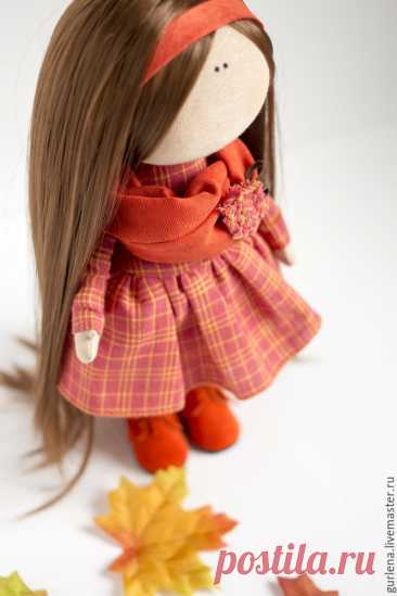 Текстильная кукла от макушки до пяточек | Журнал Ярмарки Мастеров