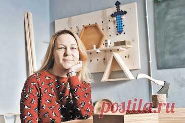 Как хрупкая девушка открыла частную столярную мастерскую в центре Минска — Российская газета