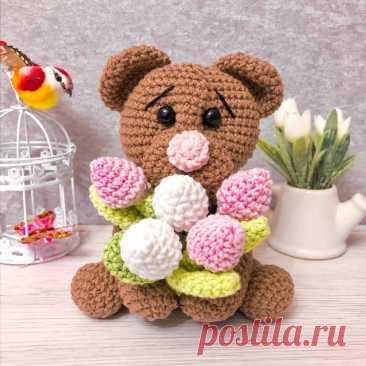 Весенние цветы и игрушки амигуруми. Подборка мастер-классов крючком   Hand made по жизни   Яндекс Дзен