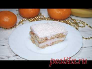 """Торт без Выпечки """"Розовый Фламинго"""""""