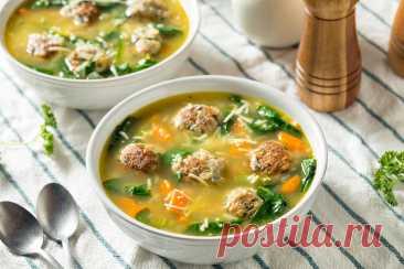 Суп с фрикадельками: 2 самых вкусных рецепта | Еда от ШефМаркет | Яндекс Дзен