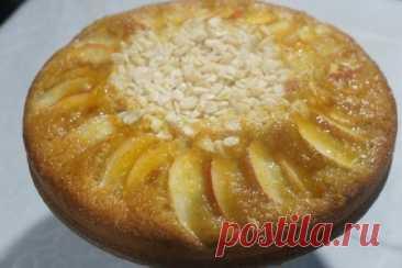 Пирог два яблока – рецепт с фото