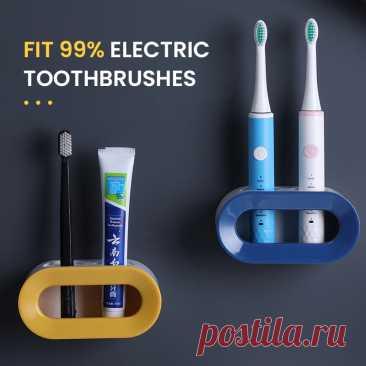 541.66руб. 47% СКИДКА|Креативный держатель зубной пасты для зубной щетки настенный водонепроницаемый чехол для 99% электрических зубных щеток аксессуары для ванной комнаты|Аксессуры для техники по уходу за собой|   | АлиЭкспресс Покупай умнее, живи веселее! Aliexpress.com