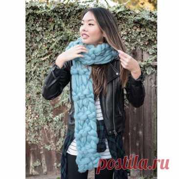 Модные шарфы 2020 (55 фото): крупная вязка, хомут, снуд
