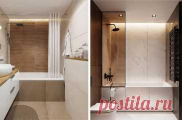 Какую шторку выбрать для ванны, стеклянную или тканевую? Плюсы и минусы | Дизайнер Сергей Кожевников | Яндекс Дзен