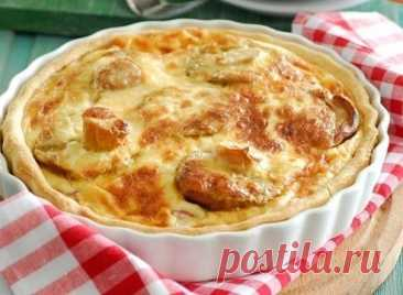 Пирог с лесными грибами — Sloosh – кулинарные рецепты