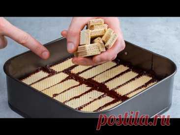 Tort ca din revista - cu blat din napolitane si Nutella (fara coacere) Cookrate-Romania