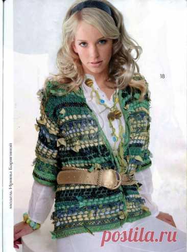 Журнал Мод. Вязание №625 2019