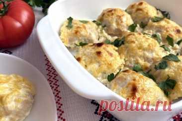 Куриные шарики в сливочном соусе в духовке – пошаговый рецепт с фотографиями
