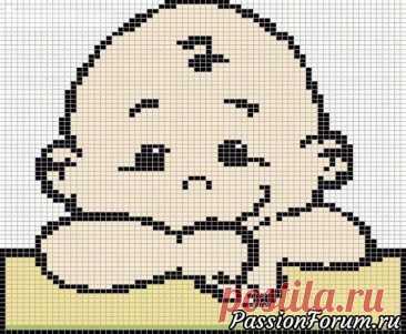 Схемы жаккардовых рисунков для детских вещей   Вязание спицами для начинающих