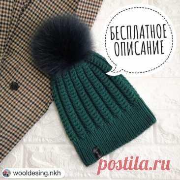 Описание шапки от @wooldesing.nkh Спасибо, если поделитесь примерами работ в комментариях #шапка_спицами@knit_best, #шапка_вкруговую@knit_best  Шапочка liberty_hat Показать полностью...