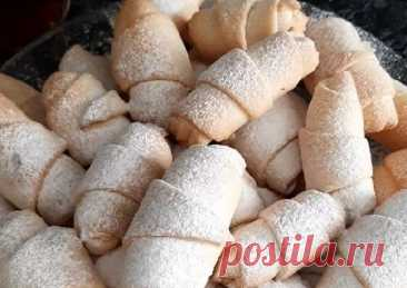 (1) Рогалики с ореховой начинкой - пошаговый рецепт с фото. Автор рецепта Saminat Macsubova . - Cookpad