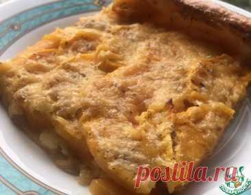 Открытый пирог с тыквой и сыром – кулинарный рецепт