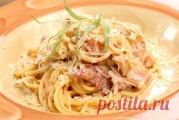 Паста карбонара «Pasta alla carbonara» рецепт – итальянская кухня: паста и пицца. «Еда»