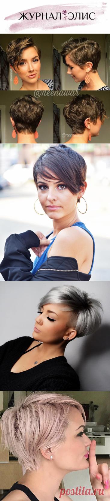 Стрижка пикси для толстых и тонких волос: 25 стильных идей - Журнал Элис