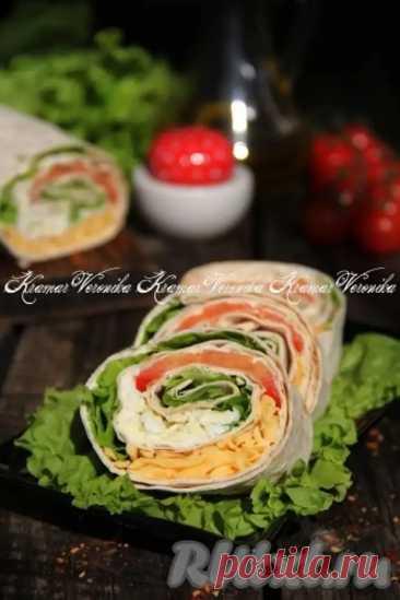 Рулет из лаваша с помидорами и сыром - Дачно-огородные радости - медиаплатформа МирТесен