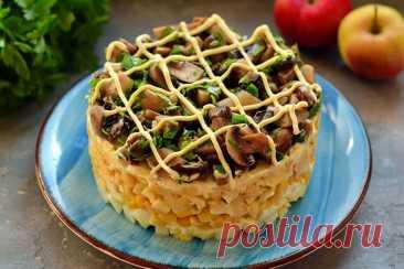 "Салат ""Мошенница"" | Рецепты салатов и вкусняшек | Яндекс Дзен"