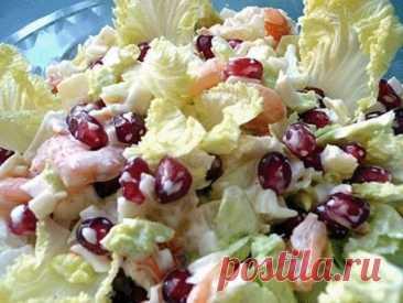 ¡6 vkusneyshih de las ensaladas con la col de Pekín!